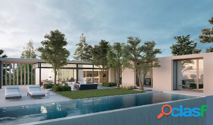 Maravillosa villa de estilo moderno con espectaculares vistas al mar