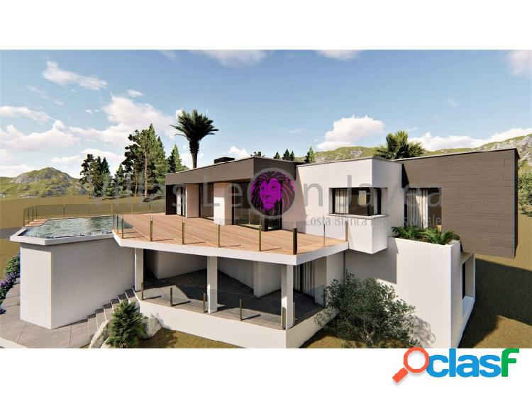 En venta villa moderno en cumbre del sol benitachell
