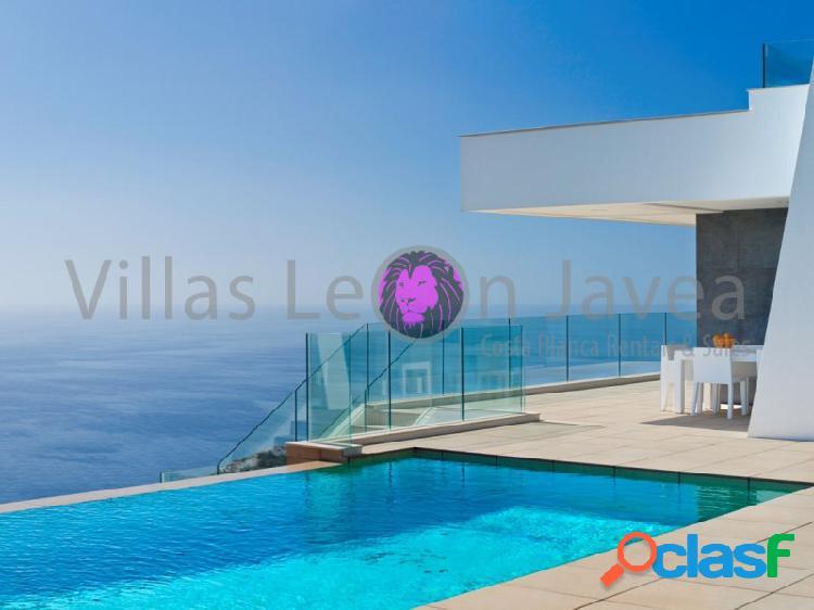 Lujosa y moderna villa en venta con espectaculares vistas al mar en cumbre del sol - benitachell