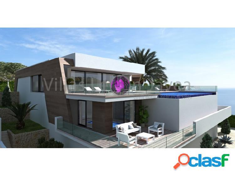 Villa de lujo con espectaculares vistas al mar y peñon de ifach de calpe en cumbre del sol - benitachell