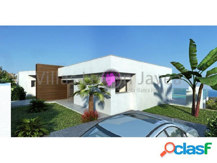 Villa moderna con espectacular vista al mar cumbre del sol - benitachell