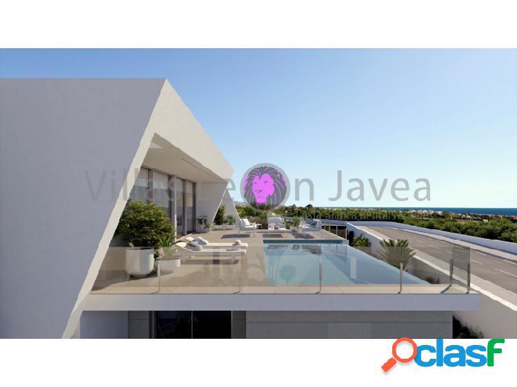 Villa moderna con esplendido vistas abierta al mar en cumbre del sol - benitachell