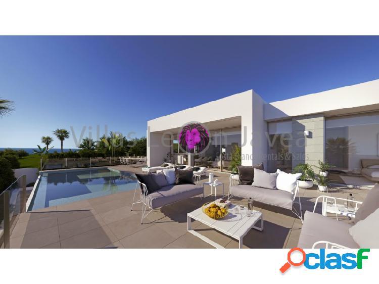 Villa moderna con magnificas vista al mar cumbre del sol- benitachell