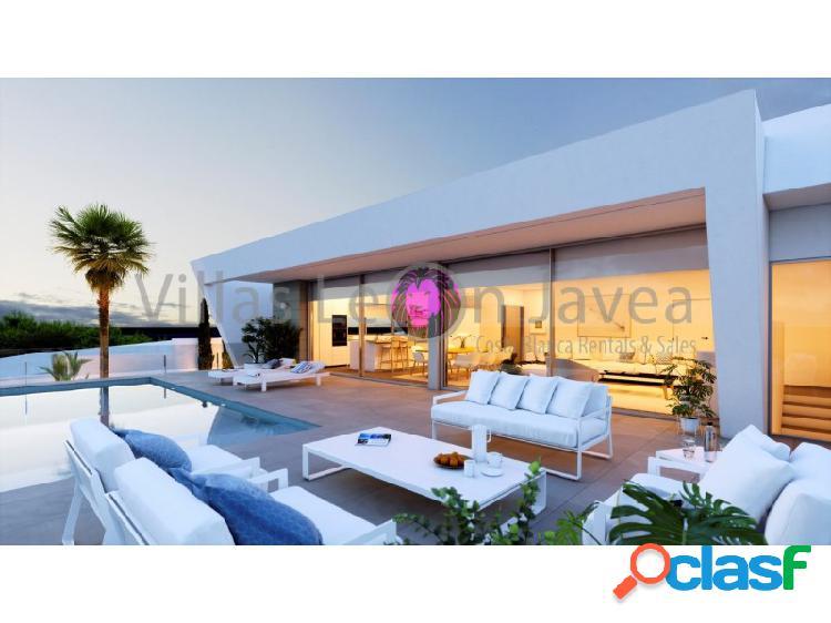 Villa moderna en venta con vista al mar en cumbre del sol - benitachell