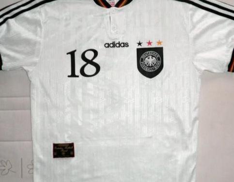 Camiseta fútbol alemania klinsmann
