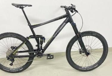 Cube fritzz xl enduro freeride mountain bike 180mm