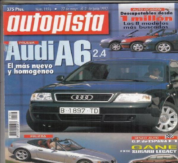 Revista autopista nº 1976 año 1997. prueba: bmw z3 2.8.