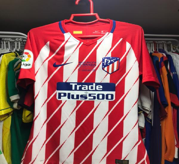 Camiseta atletico madrid match worn inauguracion wanda