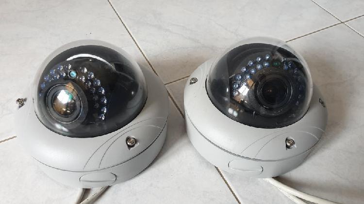 2 camaras de video vigilancia ip hd