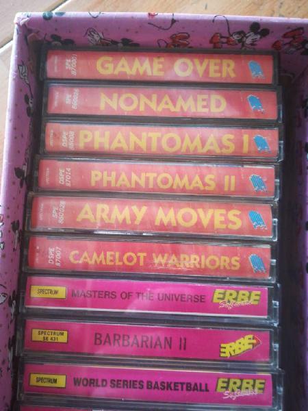 24 juegos spectrum