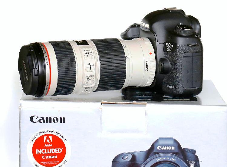Canon 5d iii + 70 200 + extras