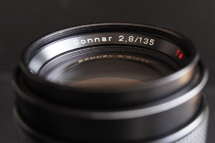 Carl zeiss sonnar c/y 135mm t*2.8