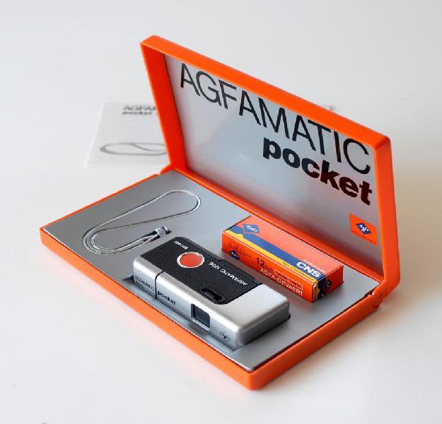 Cámara de fotos agfa, agfamatic pocket 1008 brazil