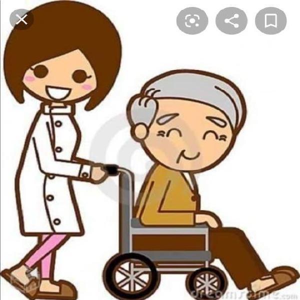 Cuidadora de personas mayores