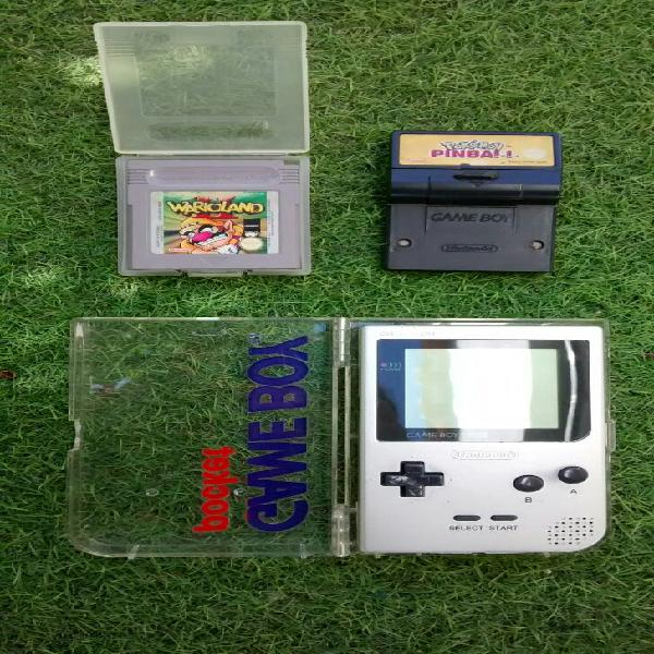 Game boy pocket + juegos