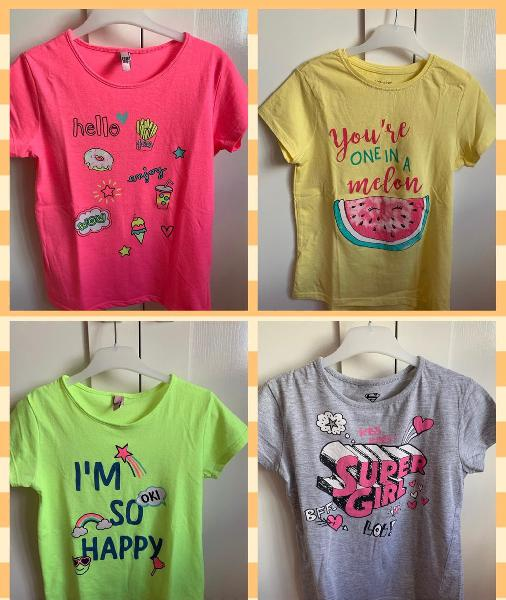 Lote camisetas niña