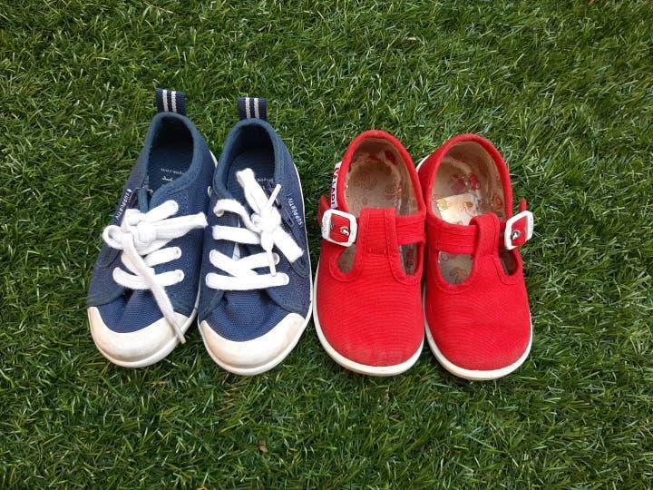 Lote zapatos bebé t.21