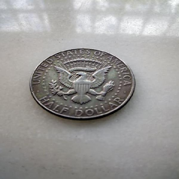 Medio dolar plata