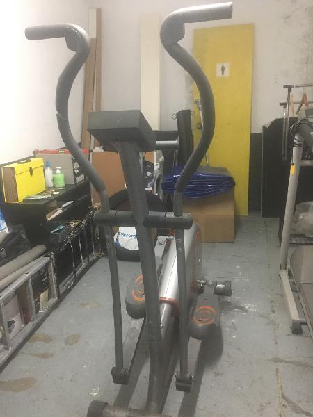 Maquina de correr y bicicleta eliptica