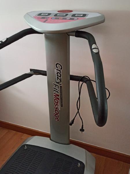 Maquina vibradora crazy fit massage