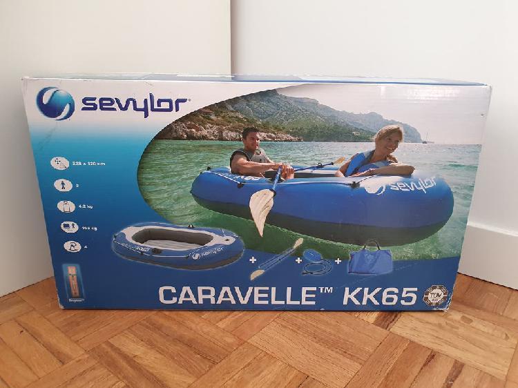 Nuevo - bote hinchable sevylor caravelle 228x120cm