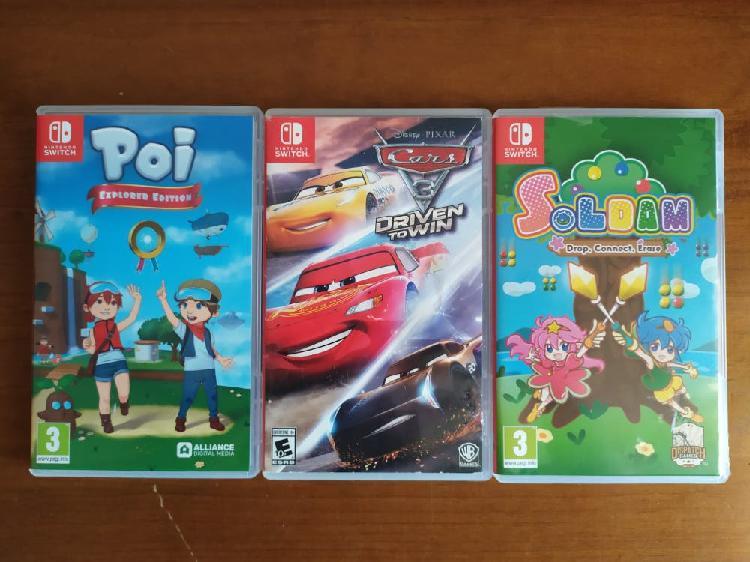 Nintendo switch juegos