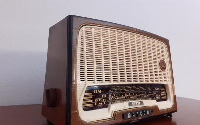Radio antigua marconi am 249 m