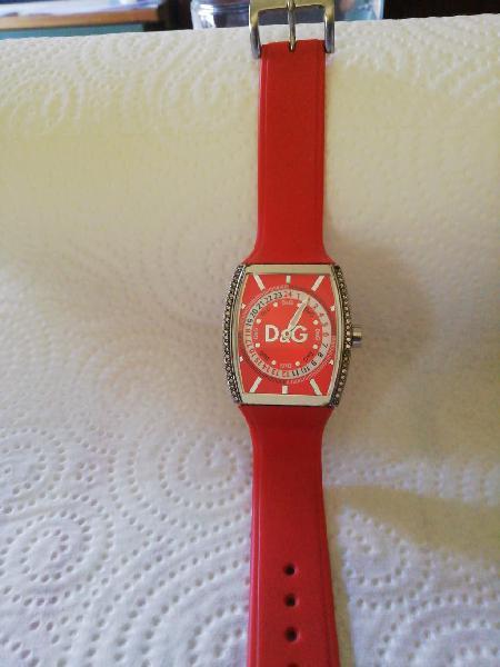 Reloj dolce gabanna rojo mujer