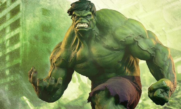 The incredible hulk premium format green