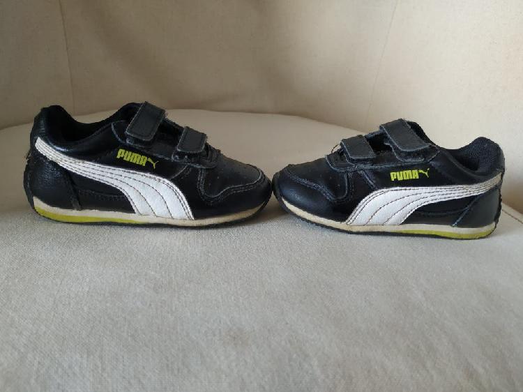 Zapatillas deportivas bambas puma niño num. 23