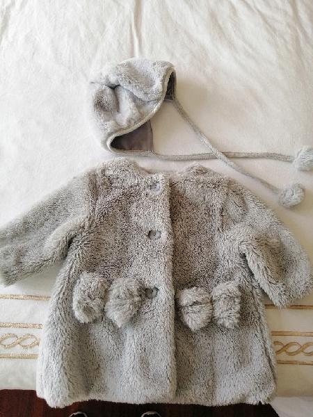 Abrigo bebé y capota