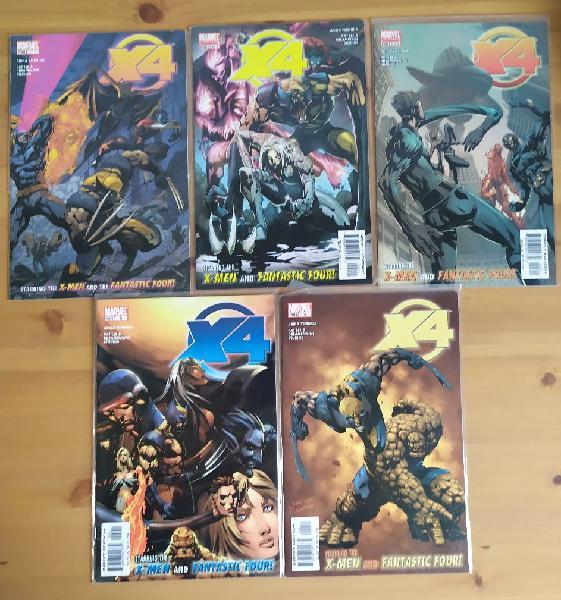 Comic grapa x4 marvel coleccion completa
