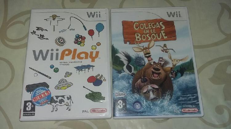Dos juegos divertidos para wii