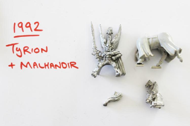 Warhammer : elfos altos - tyrion 1992