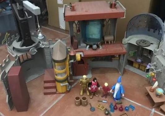 Disney laboratorio castillo merlín (2220)