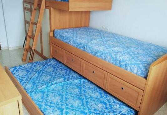 Habitación infantil triple