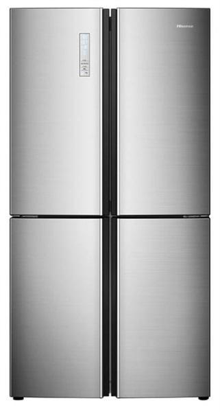 Hisense rq689n4ac2 - frigorífico americano inox con clase