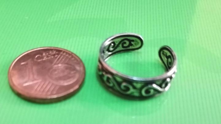 Tribal *** anillo abierto infantil (dedos pequeños) ***