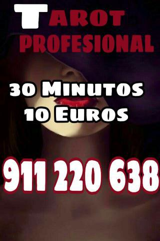 Tarot profesional 15 minutos 5 euros videntes y médium