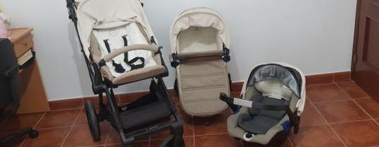 Trio carrito de bebe jane muum 2019