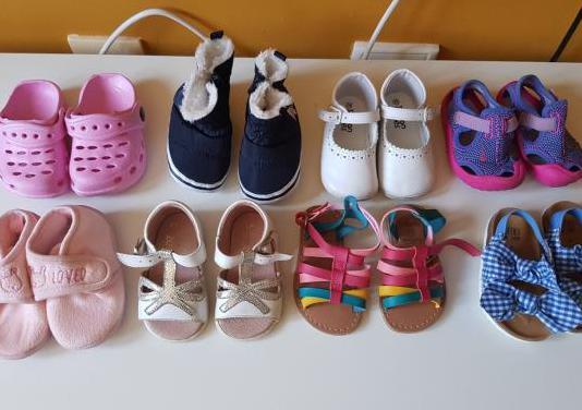 Zapatos bebe niña talla 18-19