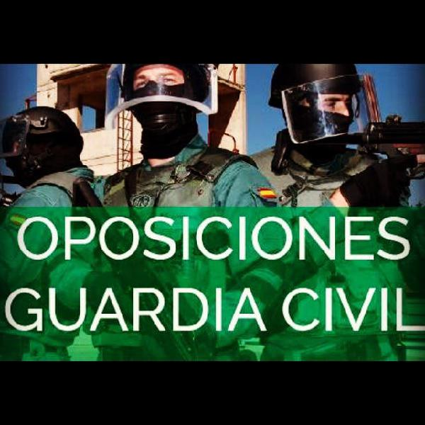 Clases guardia civil 2020