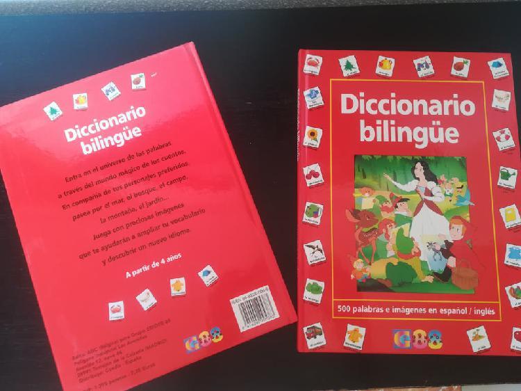 Diccionarios inglés español para niños