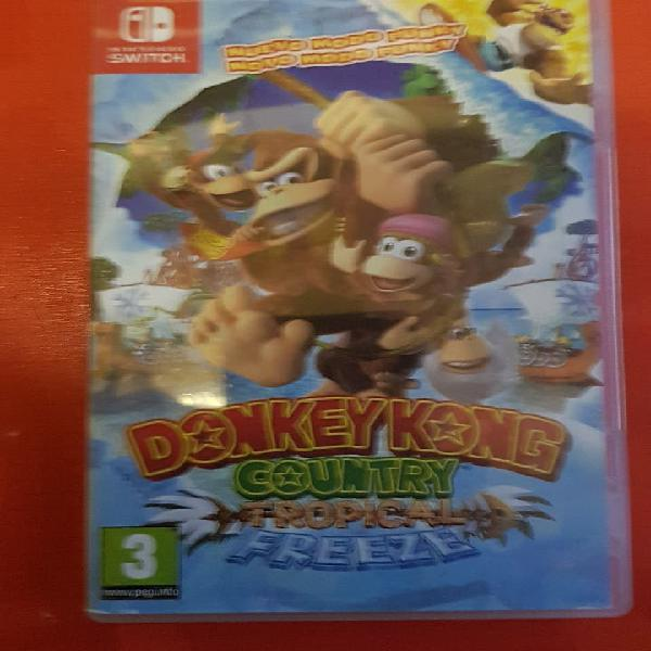 DonkeyKong Country Tropical Freeze Switch