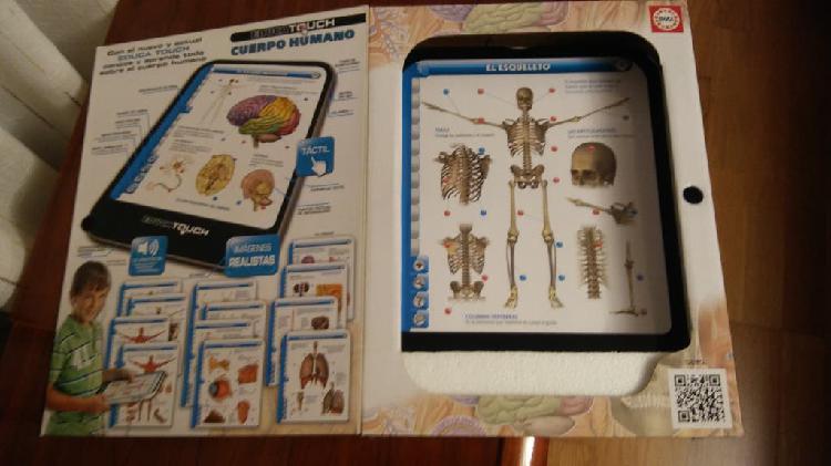 Educa touch (el cuerpo humano)