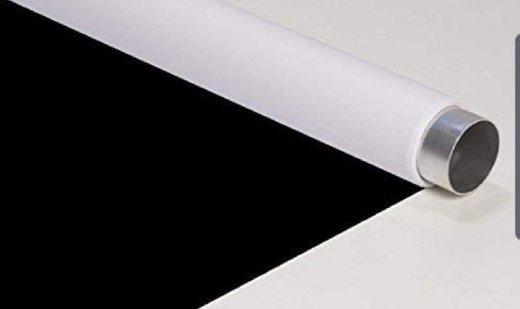 Fondo vinilo blanco y negro 2*5m