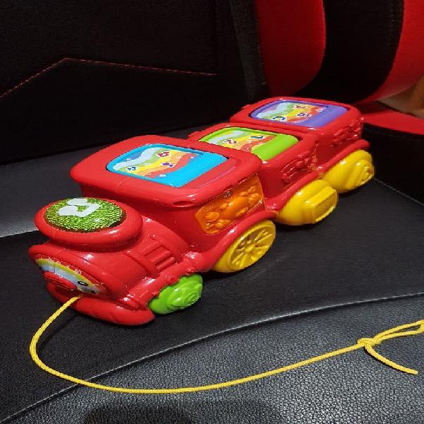 Juguete niño tren luces y sonidos