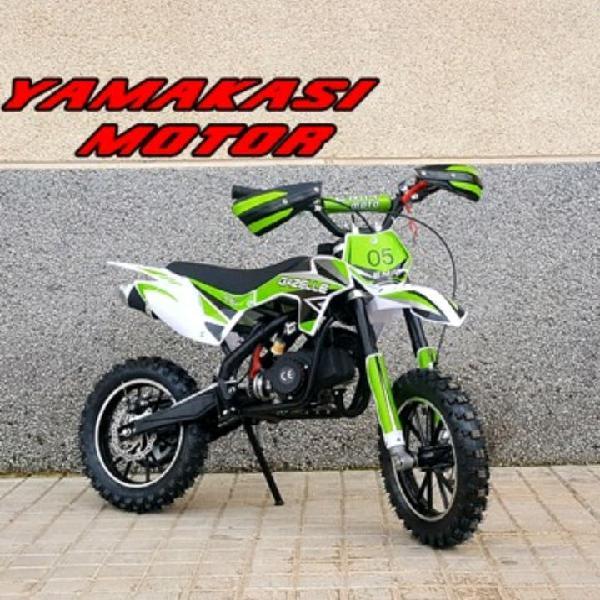 Mini moto infantil gazelle 50cc