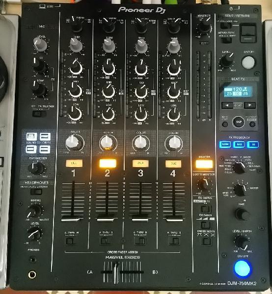 Mesa de mezclas pioneer dj djm-750 mk2