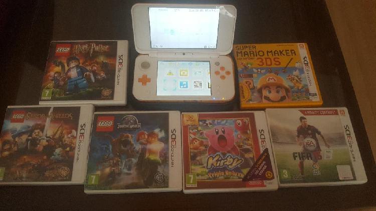 Nintendo 2ds xl (naranja)